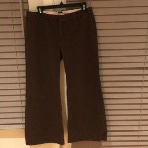 GAP women's brown pants size 8A